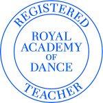 RAD Registered Teacher logo